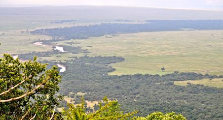 stunning valley in Africa