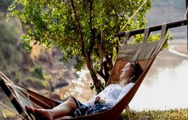 relax to stunning African vistas