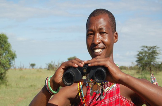 wonderful guides in an authentic African safari