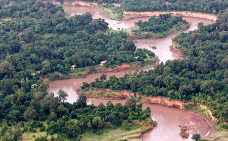 masa mara river in Africa