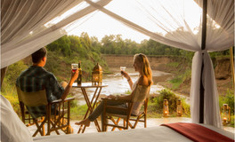 stunning African views from your tent