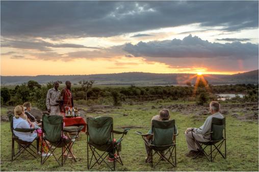beautiful African vistas close to nature