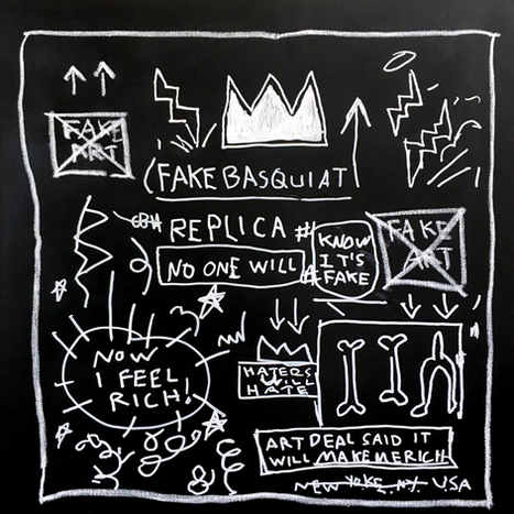 Fake Basquiat Replica, 2017