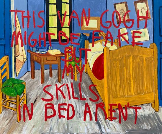 Van Gogh and Chill (Van Hoe), 2019