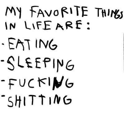 Favorite Things in Life, 2018