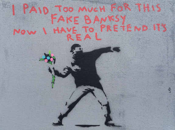 Overpaid for This Banksy, 2017