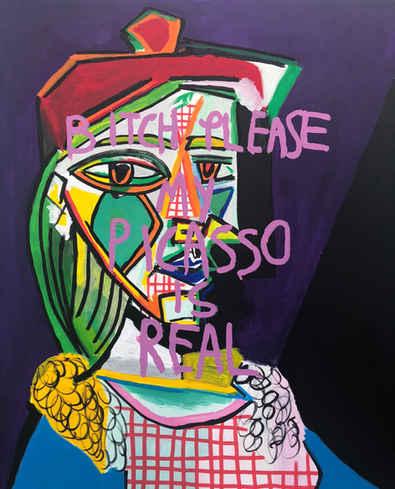 Picasso Please, 2018