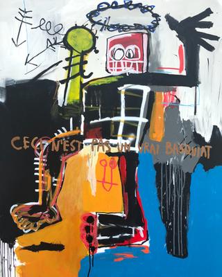 Not Basquiat, 2018