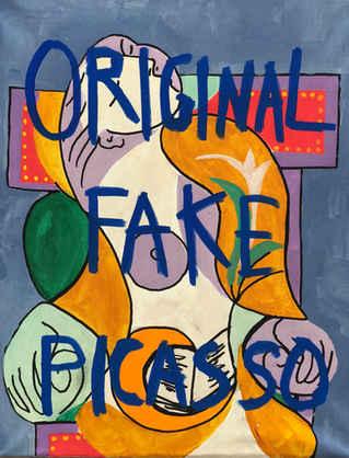 Original Fake Picasso, 2018