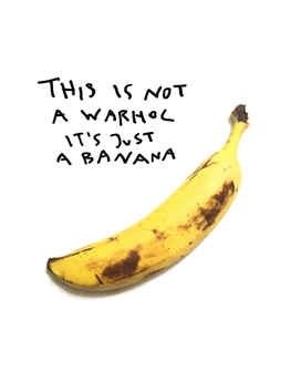 Banana Warhol , 2017