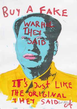 Buy A Fake Warhol They Said, 2017