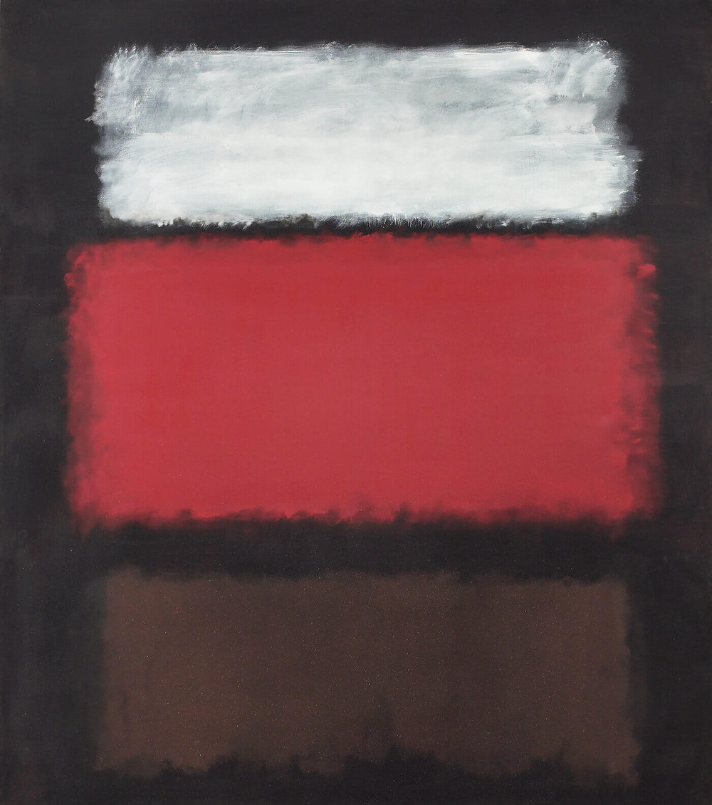 Mark Rothko, No. 1, White and Red, 1962 Oil on canvas, 259.1 x 228.6 cm, Collection of Art Gallery of Ontario, Toronto Gift from Women's Committee Fund, 1962, © 2014 Kate Rothko Prizel & Christopher Rothko / SODRAC (2015)