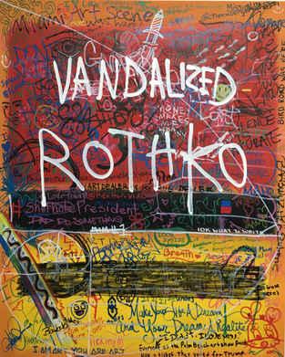 Vandalized Rothko 1, 2018