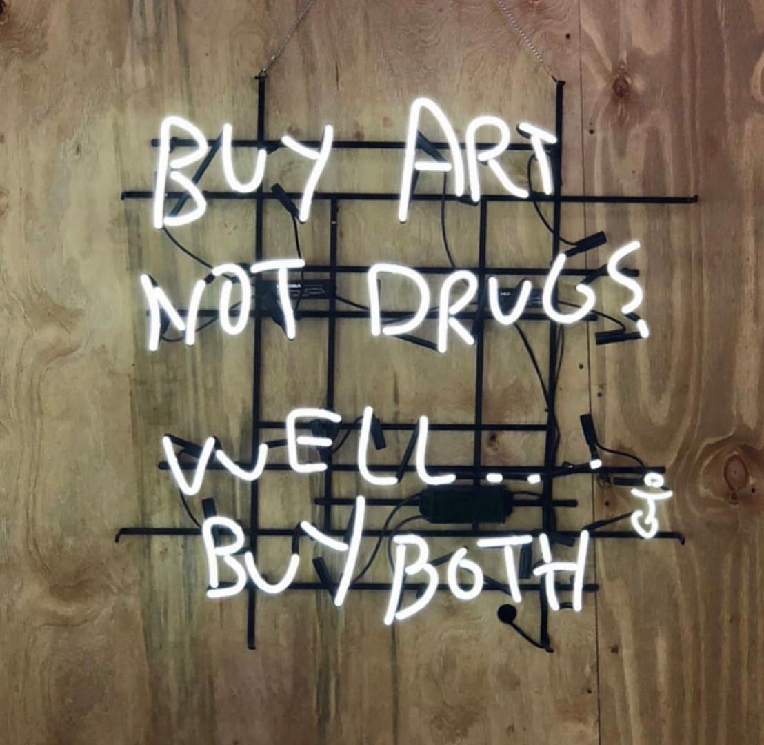 Buy Art Not Drugs Neon.jpg