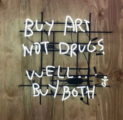 Buy Art Not Drugs Neon, 2018