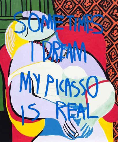 Picasso Dream, 2018