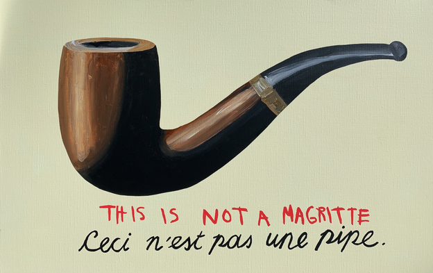 It's a Fake Magritte, 2019