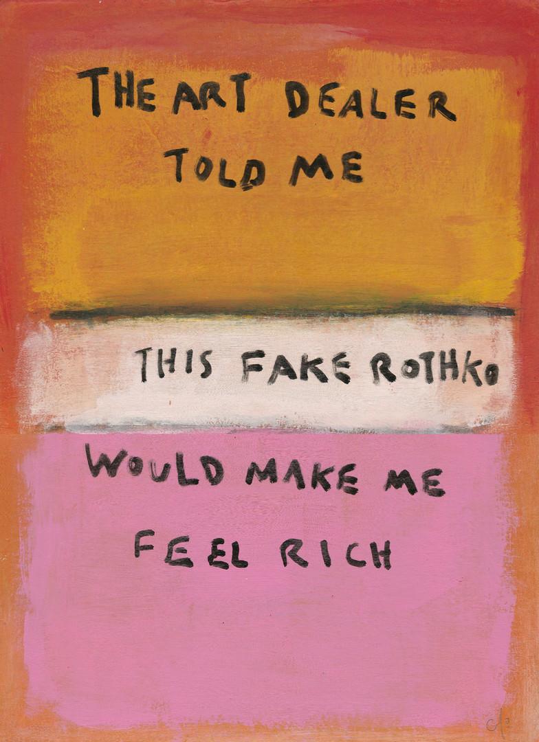 The Art Dealer Told Me This Fake Rothko