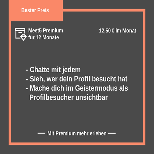 Premium-Mitgliedschaft für 1 Jahr