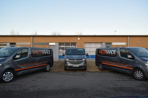 Our vans
