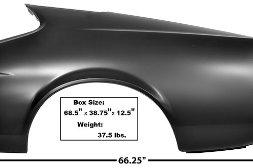 1971-72 Ford Mustang Fastback Quarter Panel