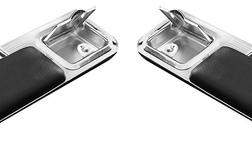 1966-67 Chevelle Rear Arm Rests w/Ashtray & Pad