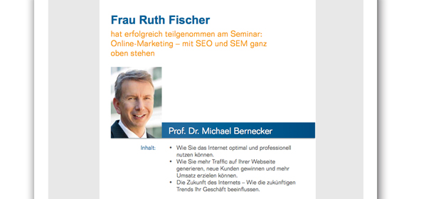 DMI - Prof. Dr. Bernecker