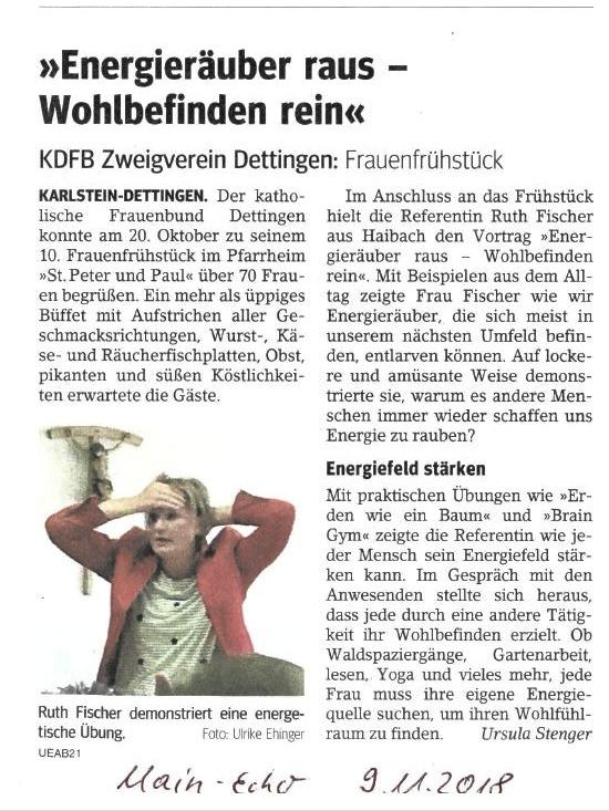 Presse Frauenbund_Ruth Fischer