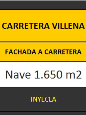 NAVE 1.650 M2. CTRA. DE VILLENA.