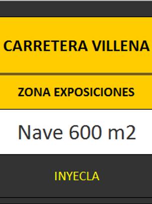 NAVE 600 M2. CTRA. VILLENA.