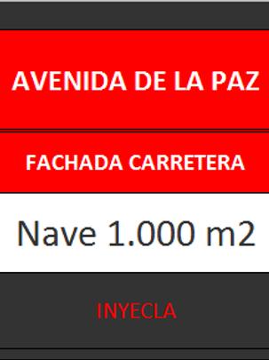NAVE 1.000 M2. AVENIDA DE LA PAZ.