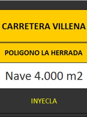 NAVE 4.000 M2. CTRA. VILLENA.