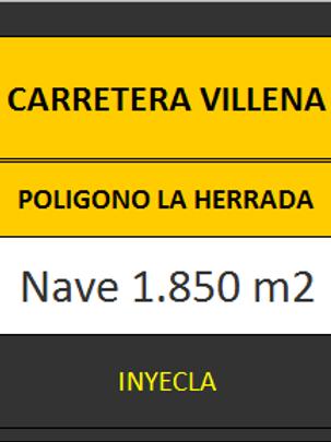 NAVE 1.850 M2. CTRA. VILLENA.