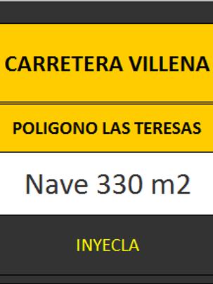 NAVE 330 M2. CTRA. VILLENA.
