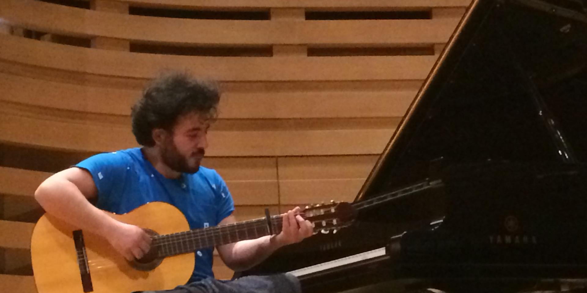 Prueba de sonido en el Royal Conservatory Glenn Gould (Toronto, Canadá)