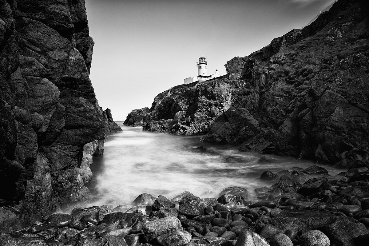 MONO - Fanad Lighthouse by Raphael Mason (10 marks)