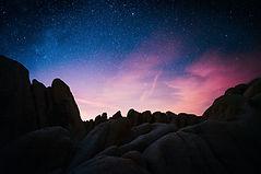 starry-sky-3600x2400-evening-rocks-silho
