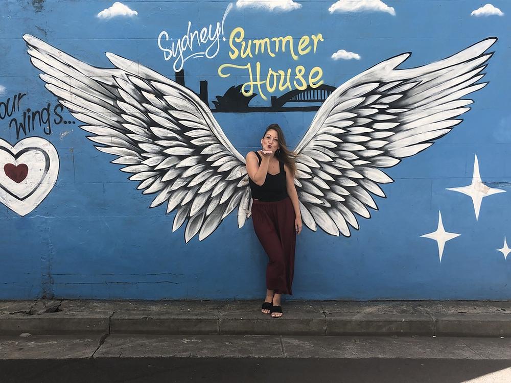 Chrissi vom Sydney Summer House Hostel