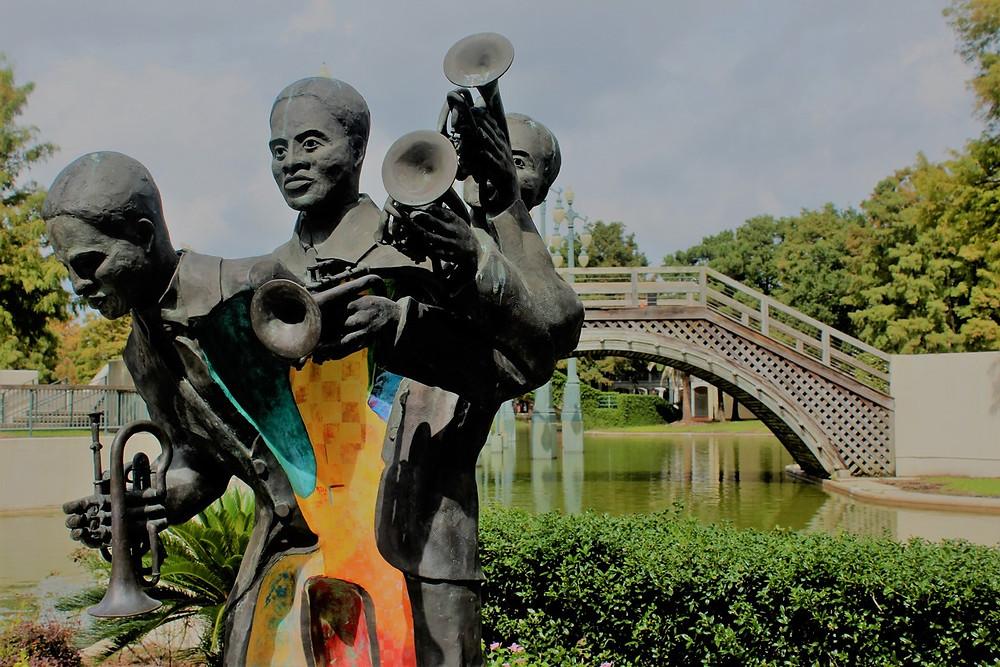 Jazz-Statue