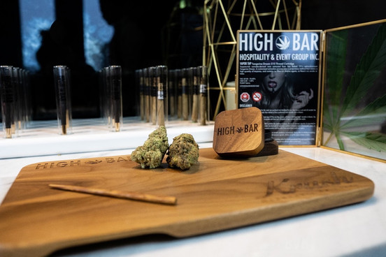 "HIGH BAR Hospitality & Event Group Inc. is Canada's first luxury cannabis event company, creating a premier full-service experience that everyone can enjoy (from someone who's never smoked to your seasoned ""toker""). With our experience and knowledge immersed in the event industry for over 25 years, the introduction of legal cannabis presented the perfect opportunity to create a high class event company featuring cannabis in its many wonderful forms.  Our mission is simple, provide clients with cannabis experience presented in a classy and high-end fashion. We've partnered with some of the best names in the events and cannabis industries, so that we can provide the highest quality service for any occasion.  We are committed to cannabis education, safety, and providing a responsible experience. www.HighBarToronto.com 19+ info@HighBarToronto.com 🇨🇦   #bartender #budtender 
