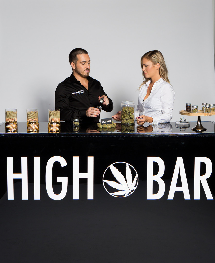 """HIGH BAR Hospitality & Event Group Inc. is Canada's first luxury cannabis event company, creating a premier full-service experience that everyone can enjoy (from someone who's never smoked to your seasoned """"toker""""). With our experience and knowledge immersed in the event industry for over 25 years, the introduction of legal cannabis presented the perfect opportunity to create a high class event company featuring cannabis in its many wonderful forms.  Our mission is simple, provide clients with cannabis experience presented in a classy and high-end fashion. We've partnered with some of the best names in the events and cannabis industries, so that we can provide the highest quality service for any occasion.  We are committed to cannabis education, safety, and providing a responsible experience. www.HighBarToronto.com 19+ info@HighBarToronto.com 🇨🇦   #bartender #budtender 
