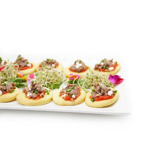 """Duck Confit Flatbread at Encore Catering in Partnership with HIGH BAR - HIGH BAR Hospitality & Event Group Inc. is Canada's first luxury cannabis event company, creating a premier full-service experience that everyone can enjoy (from someone who's never smoked to your seasoned """"toker""""). With our experience and knowledge immersed in the event industry for over 25 years, the introduction of legal cannabis presented the perfect opportunity to create a high class event company featuring cannabis in its many wonderful forms.  Our mission is simple, provide clients with cannabis experience presented in a classy and high-end fashion. We've partnered with some of the best names in the events and cannabis industries, so that we can provide the highest quality service for any occasion.  We are committed to cannabis education, safety, and providing a responsible experience. www.HighBarToronto.com 19+ info@HighBarToronto.com 🇨🇦   #bartender #budtender   #prerolls & #vaporizer   #mobilecannabisbar   #liverolling   #catering   #cannabiscuisine    #partyfavours & MORE BUDTENDER CANNABIS BARTENDER MOBILE CANNABIS BAR CANNABIS CATERING buddbuffet high class budtending wedding corporate event planner toronto event cannabis sommelier high bar hospitality & event group inc. thc cbd infused food cuisine catering decor cannabis brand activations Vaughan Missisauga Brampton Richmondhill Ontario Markham Scarbarough Muskoka Caledon Whitby North York Foresthill Bridal Path Muskoka Blue Mountain bar bat mitzvah"""