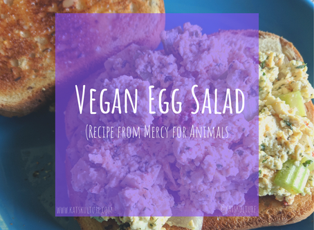 Vegan Egg Salad (Mercy For Animals)