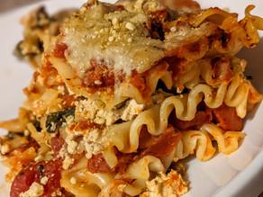 Vegan Lasagna With Tofu Kale Ricotta