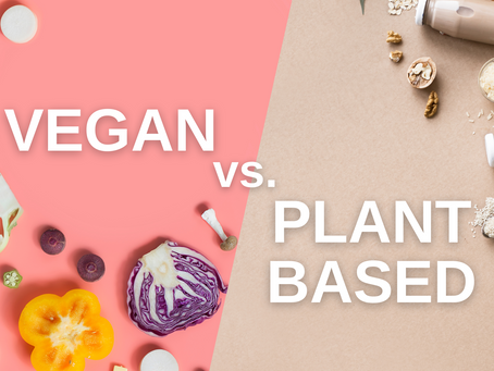 Vegan vs. Plant-Based - What's the Difference?