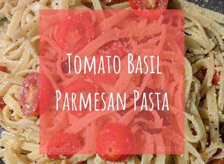 Tomato Basil & Vegan Parm Pasta