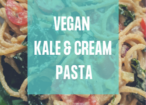 Vegan Kale & Cream Pasta