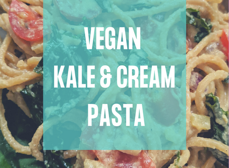 Vegan Kale & Cream Pasta