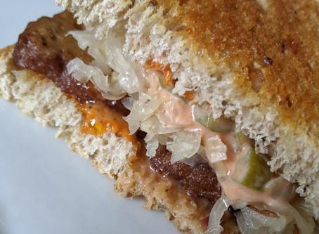 Seitan Reuben Sandwich