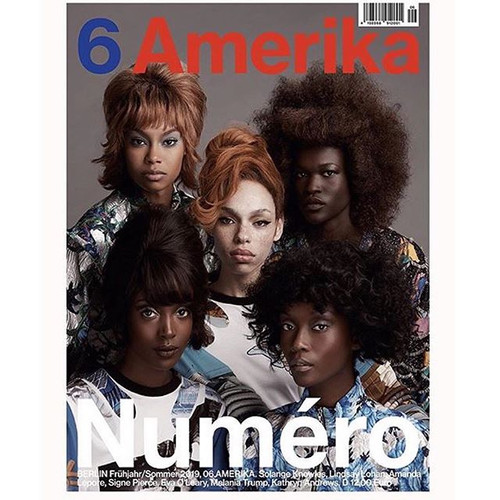 #Repost ⁣ Newest issue of _NumeroBerlin